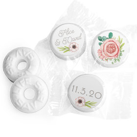 """Personalized 3/4"""" Stickers - Bonnie Marcus Wedding Blossom Bliss (108 Stickers)"""