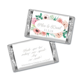 Personalized Mini Wrappers Only - Bonnie Marcus Bridal Shower Blossom Bliss