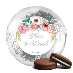 Personalized Chocolate Covered Oreos - Wedding Reception Blossom Bliss