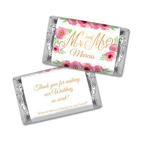 Personalized Mini Wrappers Only - Bonnie Marcus Wedding Mr. & Mrs.
