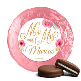 Personalized Chocolate Covered Oreos - Wedding Reception Mr. & Mrs.