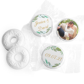 "Personalized 3/4"" Stickers - Bonnie Marcus Wedding Forever Foliage (108 Stickers)"