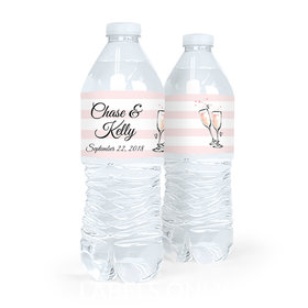 Bonnie Marcus Collection Wedding The Bubbly Water Bottle Labels (5 Labels)