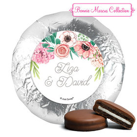 Personalized York Peppermint Patties - Wedding Reception Blossom Bliss (24 Pack)