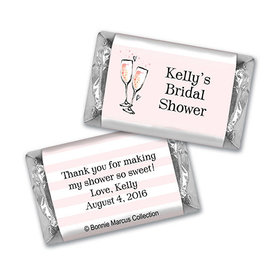 The Bubbly Bridal Shower Personalized Miniature Wrappers