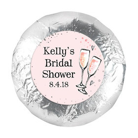 The Bubbly Bridal Shower Favors 1.25in Stickers