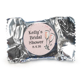 The Bubbly Bridal Shower Personalized York Peppermint Patties Assembled