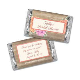 Beautiful Love Bridal Shower Personalized Miniature Wrappers