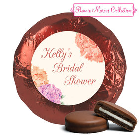 Blooming Joy Bridal Shower Favors Milk Chocolate Covered Oreo Assembled (24 Pack)