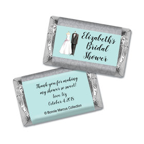 Forever Together Bridal Shower Personalized Miniature Wrappers
