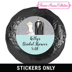 Forever Together Bridal Shower Favor 1.25in Stickers