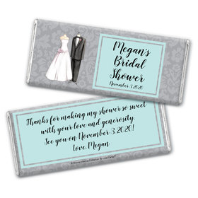 Forever Together Bridal Shower Favors Personalized Candy Bar - Wrapper Only