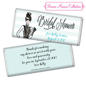 Showered in Vogue Bridal Shower Favors Personalized Hershey's Bar Assembled
