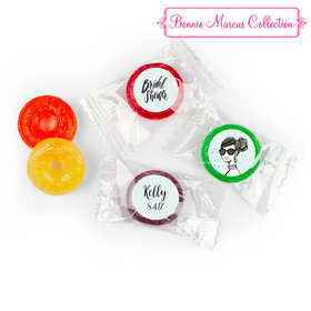 Sunny Soiree Personalized Bridal Shower LIFE SAVERS 5 Flavor Hard Candy Assembled