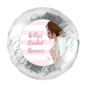 """Bonnie Marcus Collection Wedding Bridal Shower Favors 1.25"""" Stickers (48 Stickers)"""