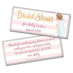 Bonnie Marcus Collection Personalized Chocolate Bar Bridal Shower Bridal March Personalized