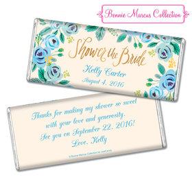 Bonnie Marcus Collection Personalized Chocolate Bar Bridal Shower Here's Something Blue Personalized
