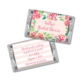 In the Pink by Bonnie Marcus HERSHEY Personalized Miniature Wrappers
