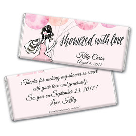 Bonnie Marcus Collection Personalized Chocolate Bar Bridal Shower Blithe Spirit Personalized