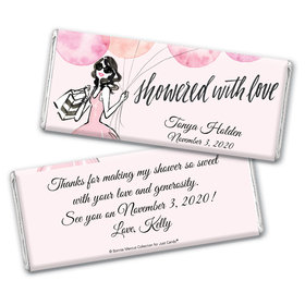 Blithe Spirit Bridal Shower Favors Personalized Candy Bar - Wrapper Only