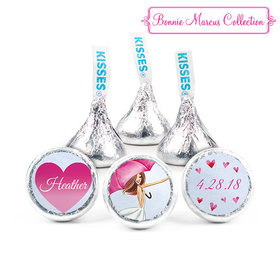 Personalized Hershey's Kisses - Bonnie Marcus Bridal Shower Love Reigns (50 Pack)