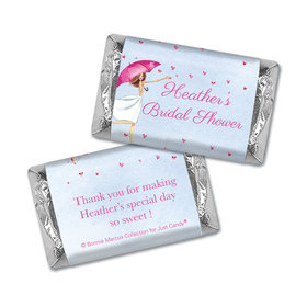 Personalized Mini Wrappers Only - Bonnie Marcus Bridal Shower Bridal Love Reigns