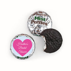 Personalized Pearson's Mint Patties - Bridal Shower Love Reigns