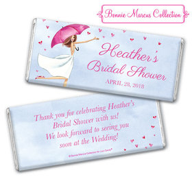 Personalized Bonnie Marcus Bridal Shower Rain of Love Chocolate Bar & Wrapper