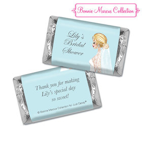 Personalized Hershey's Miniatures - Bonnie Marcus Bridal Shower Bride to Be
