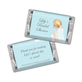 Personalized Mini Wrappers Only - Bonnie Marcus Bridal Shower Blossom