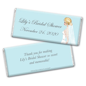 Personalized Bonnie Marcus Chocolate Bar Wrapper - Bride to Be