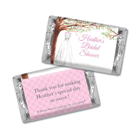 Personalized Mini Wrappers Only - Bonnie Marcus Bridal Shower Wonderful Wedding Dress