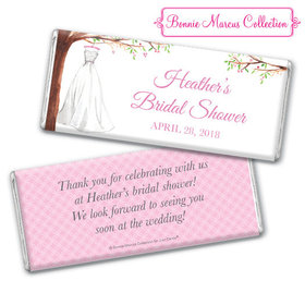 Personalized Bonnie Marcus Chocolate Bar & Wrapper - Wonderful Wedding Dress