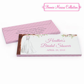 Deluxe Personalized Branches of Love Bridal Shower Chocolate Bar in Gift Box