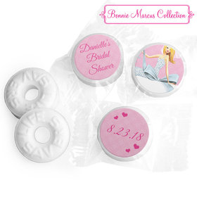 Personalized Life Savers Mints - Bonnie Marcus Wedding Beautiful Bride with Bow Blonde