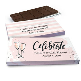 Deluxe Personalized Bubbly Chocolate Bar in Gift Box (3oz Bar)