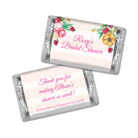 Personalized Mini Wrappers Only - Bonnie Marcus Bridal Shower Fabulous Floral