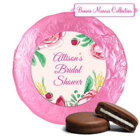 Personalized Chocolate Covered Oreos - Bridal Shower Fabulous Floral (24 Pack)