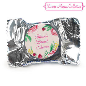 Personalized York Peppermint Patties - Bridal Shower Fabulous Floral (84 Pack)