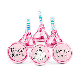 Personalized Bonnie Marcus Bridal Shower Elegance Hershey's Kisses (50 pack)