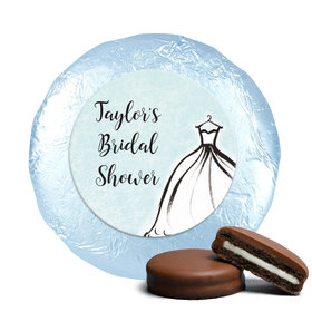 Personalized Chocolate Covered Oreos - Bridal Shower Reception Elegance (24 Pack)