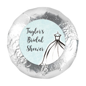 "Personalized 1.25"" Stickers - Bridal Shower Reception Elegance (48 Stickers)"