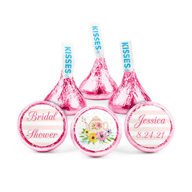 Personalized Bonnie Marcus Bridal Shower Garden Tea Party Hershey's Kisses (50 pack)