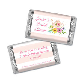Personalized Bonnie Marcus Bridal Shower Garden Tea Party Mini Wrappers