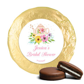 Personalized Chocolate Covered Oreos - Bridal Shower Reception Garden Tea Party (24 Pack)