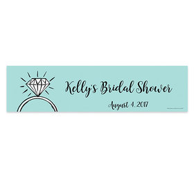 Personalized Last Fling Bridal Shower 5 Ft. Banner