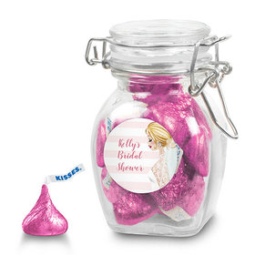 Bonnie Marcus Collection Personalized Latch Jar Bridal Shower Bridal March Personalized (6 Pack)