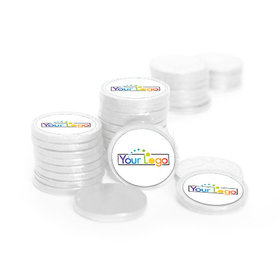 Business Promotional Add Your Logo Chocolate Coins (72 Pack)