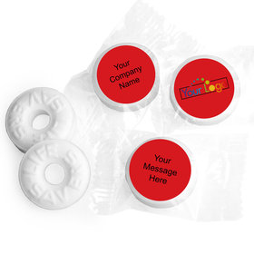 Peerless Personalized Business LIFE SAVERS Mints Assembled