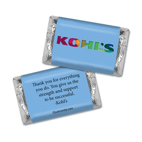 Personalized Hershey's Miniatures Wrappers Only - Business Promotional Add Your Logo